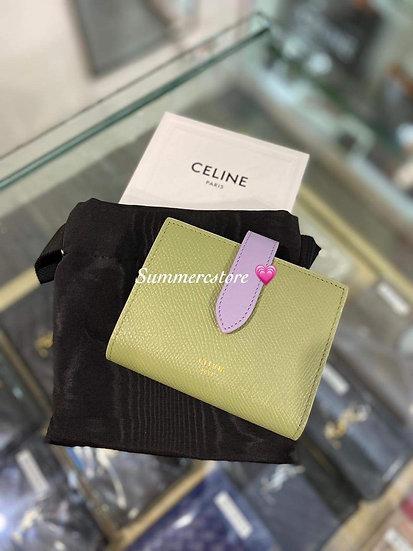 Celine Strap Wallet Small Size