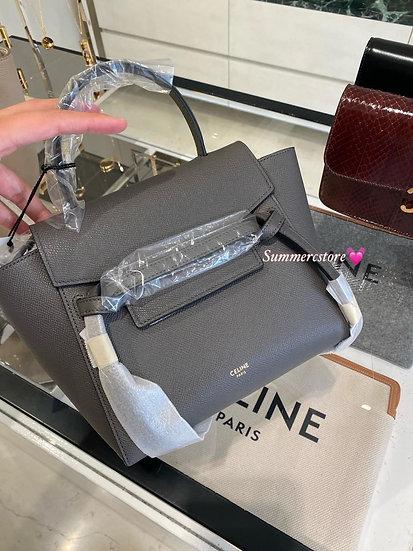 Celine Nano Belt Bag Grey