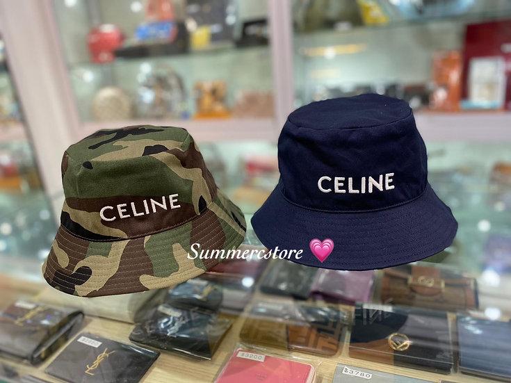 Celine hat 漁夫帽 (藍色 )