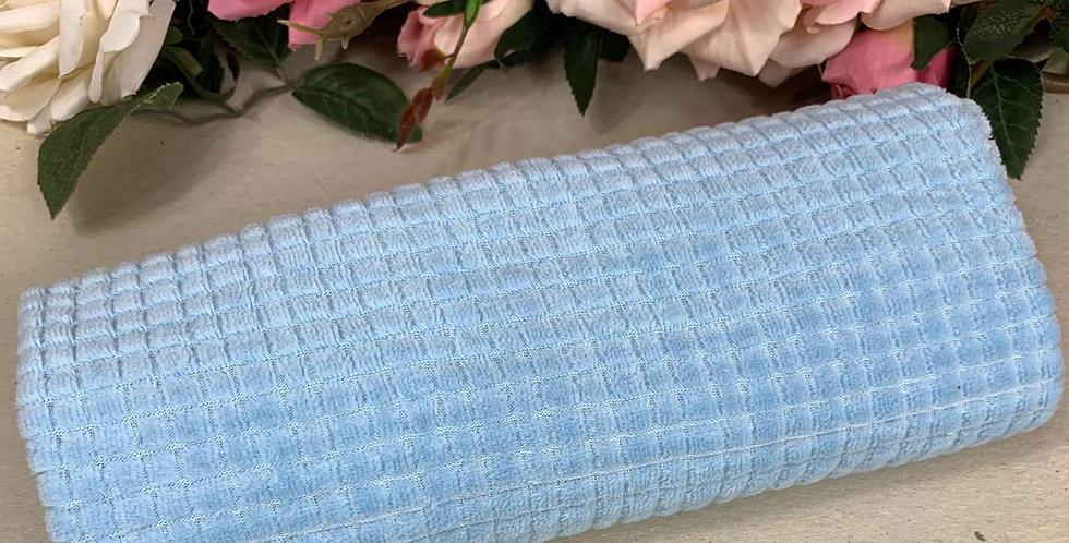 Plush Quadriculado Azul