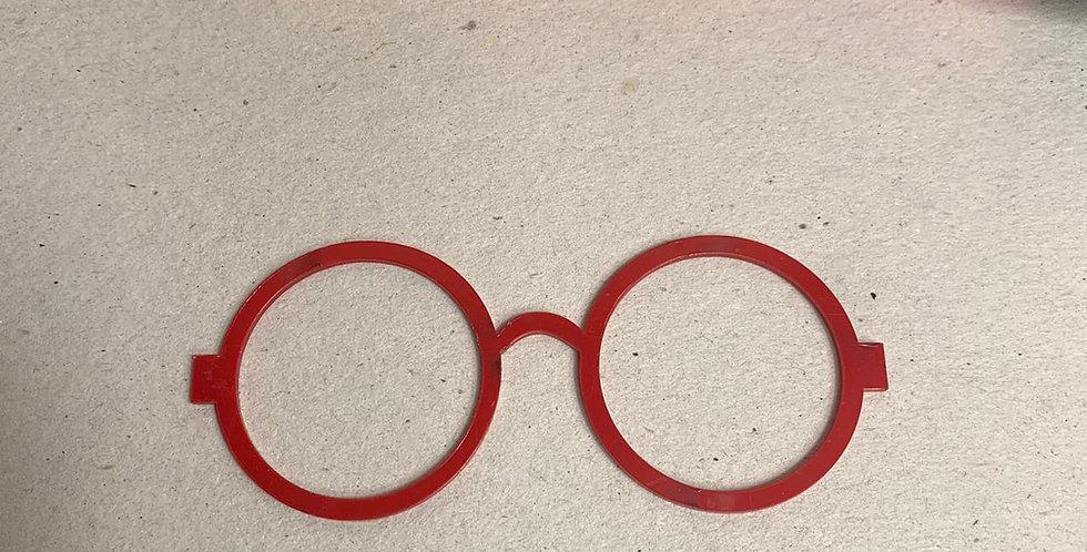 Óculos para Boneca em acrílico- 11x4,5 cm