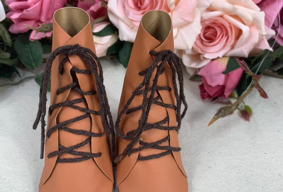 Bota - Caramelo - 8,5 cm