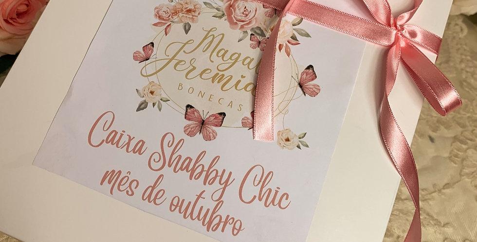 Caixa Shabby Chic - Mês de Outubro