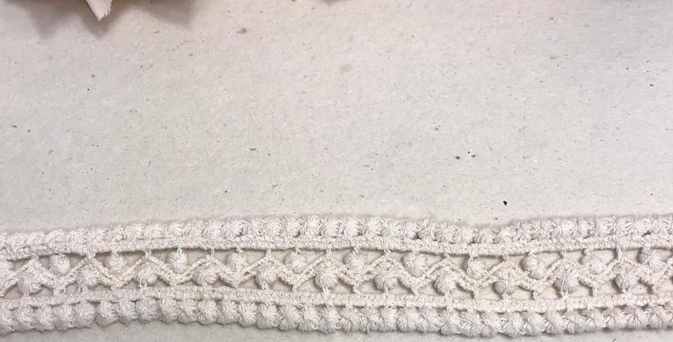 Renda de algodão