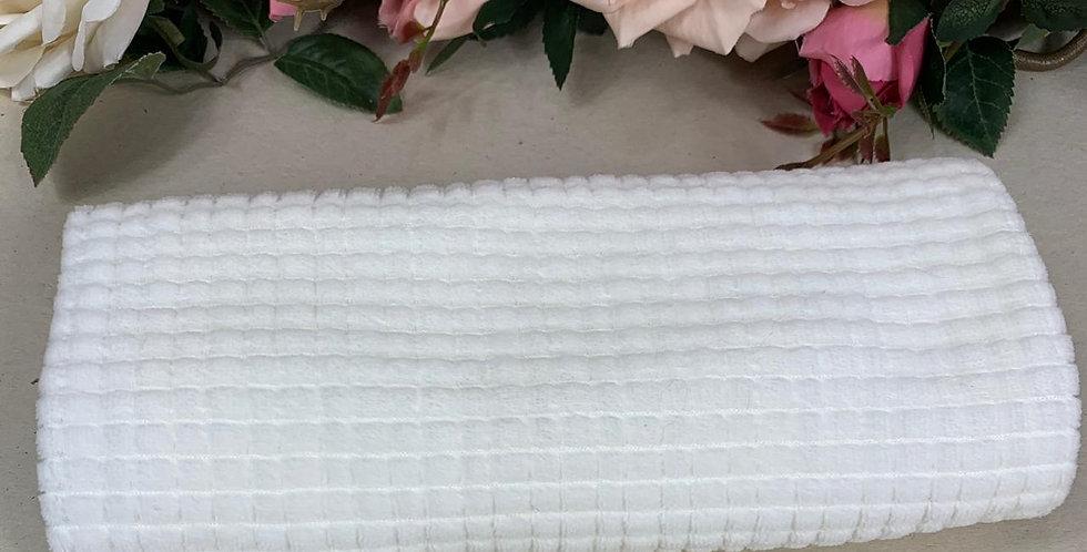 Plush Quadriculado Off White