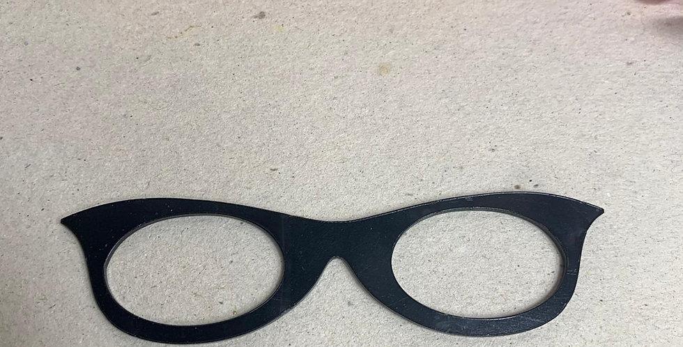 cópia de Óculos para Boneca em acrílico- 8x2 cm