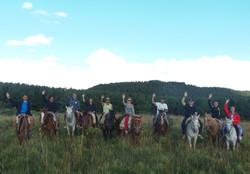 Passeio de cavalo em Cambará