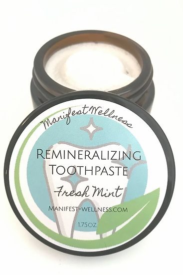 Fresh Mint Remineralizing Toothpaste