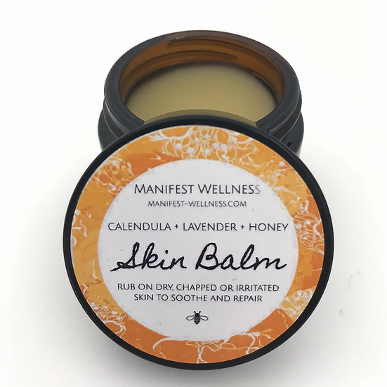 Skin Balm with Calendula, Lavender and Honey