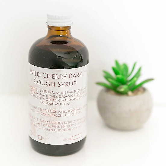 Wild Cherry Bark Cough Syrup