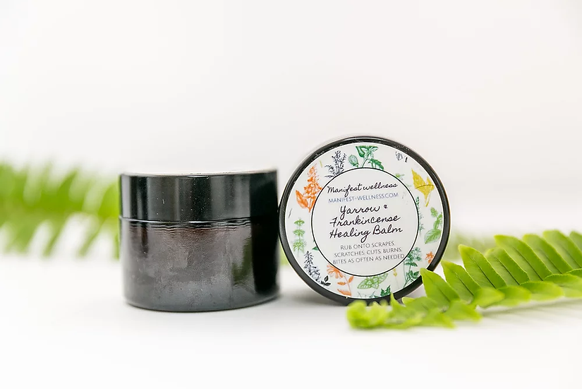 Yarrow and Frankincense Healing Balm