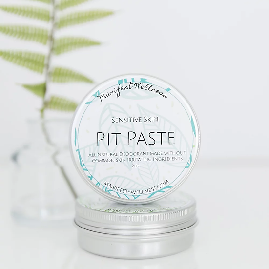 Pit Paste Deodorant for Sensitive Skin