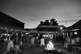 Courtyard at Night - Sarelle Photography