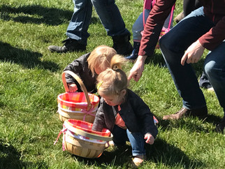 Dyment's Annual Easter Egg Hunt