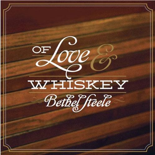 'Of Love & Whiskey' sticker