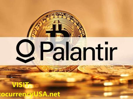Palantir accepts Bitcoin