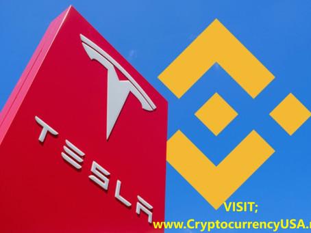 Binance has Tesla shares in token forms
