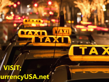 Pay for the taxi ride with cryptocurrencies?