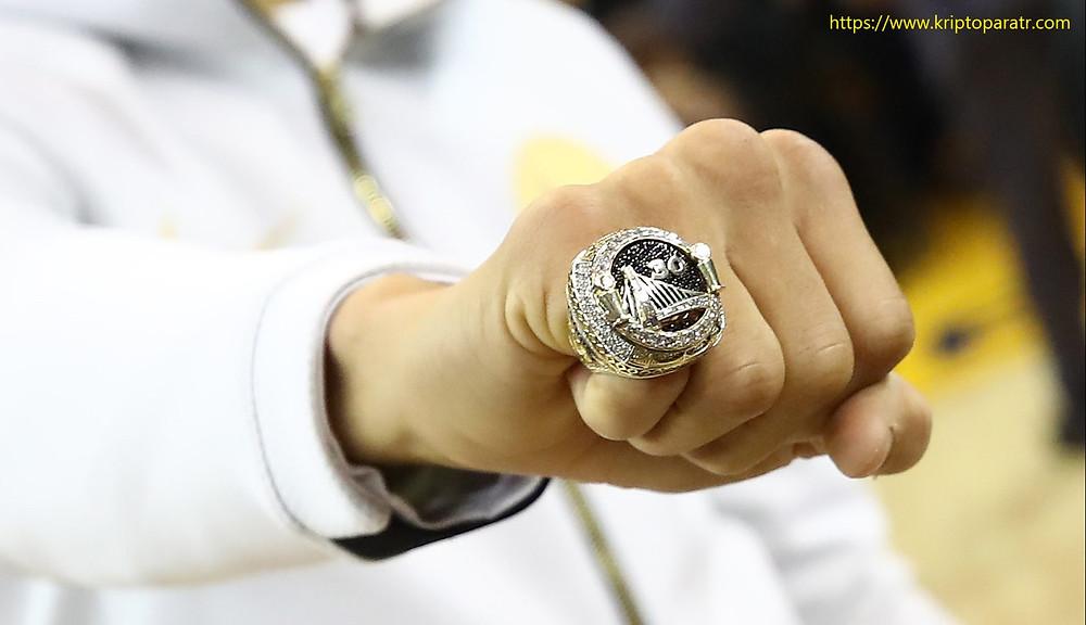 Golden State Warriors, NBA şampiyon yüzüklerini NFT olarak satıyor