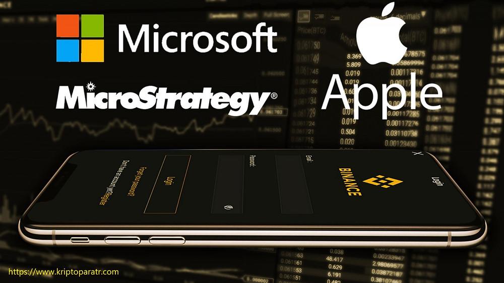 Binance Apple, Microsoft ve MicroStrategy tokenize hisselerini listeliyor