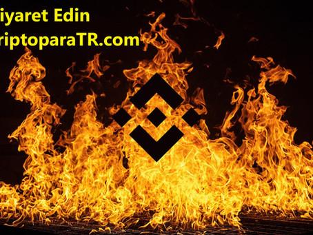 Kripto borsası Binance yaklaşık 600 milyon dolar değerinde BNB yaktı