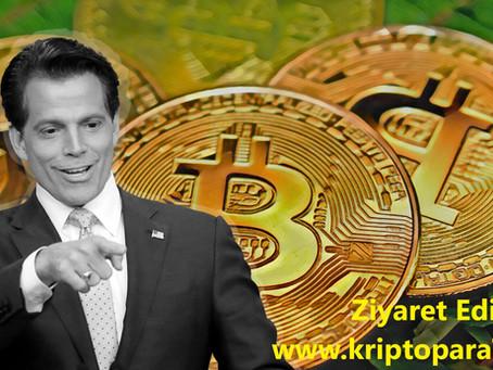 Anthony Scaramucci, insanların Bitcoin'de belirli bir yüzdeye sahip olması gerektiğine inanıyor