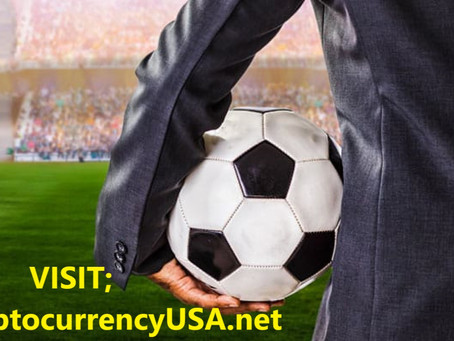 Football clubs earn from the cryptocurrencies