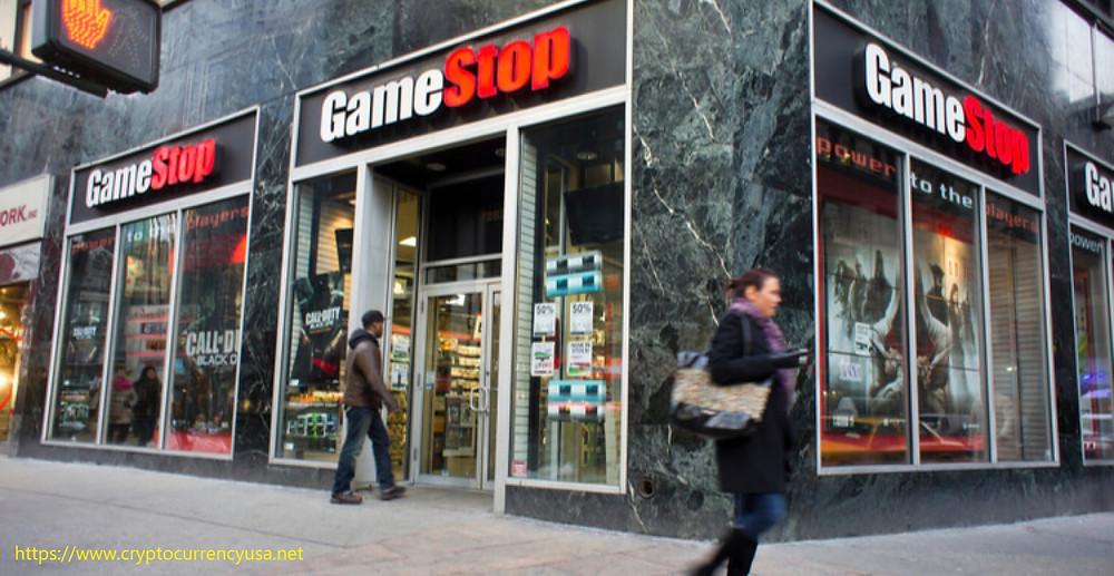 The game retailer GameStop is developing a NFT token