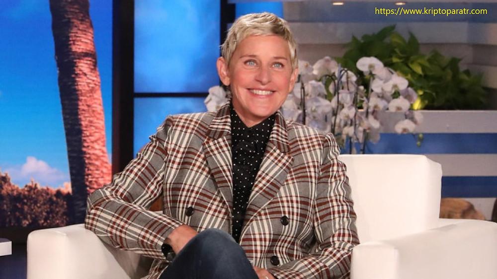 Ellen DeGeneres, ilk halka açık NFT satışıyla 31.000 $ topladı