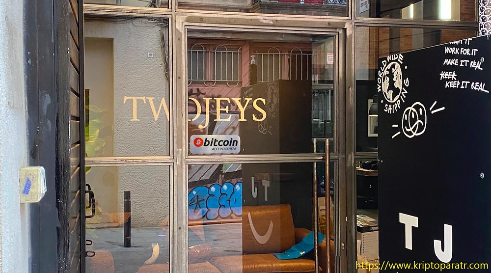 İspanya'da iki mağaza BTC ile ödemeleri kabul ediyor