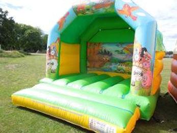 Animal Themed Bouncy Castle