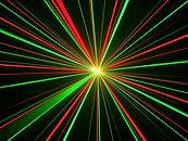 Red & green laser