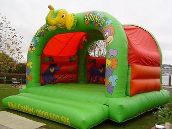 ElephantThemed Bouncy Castle