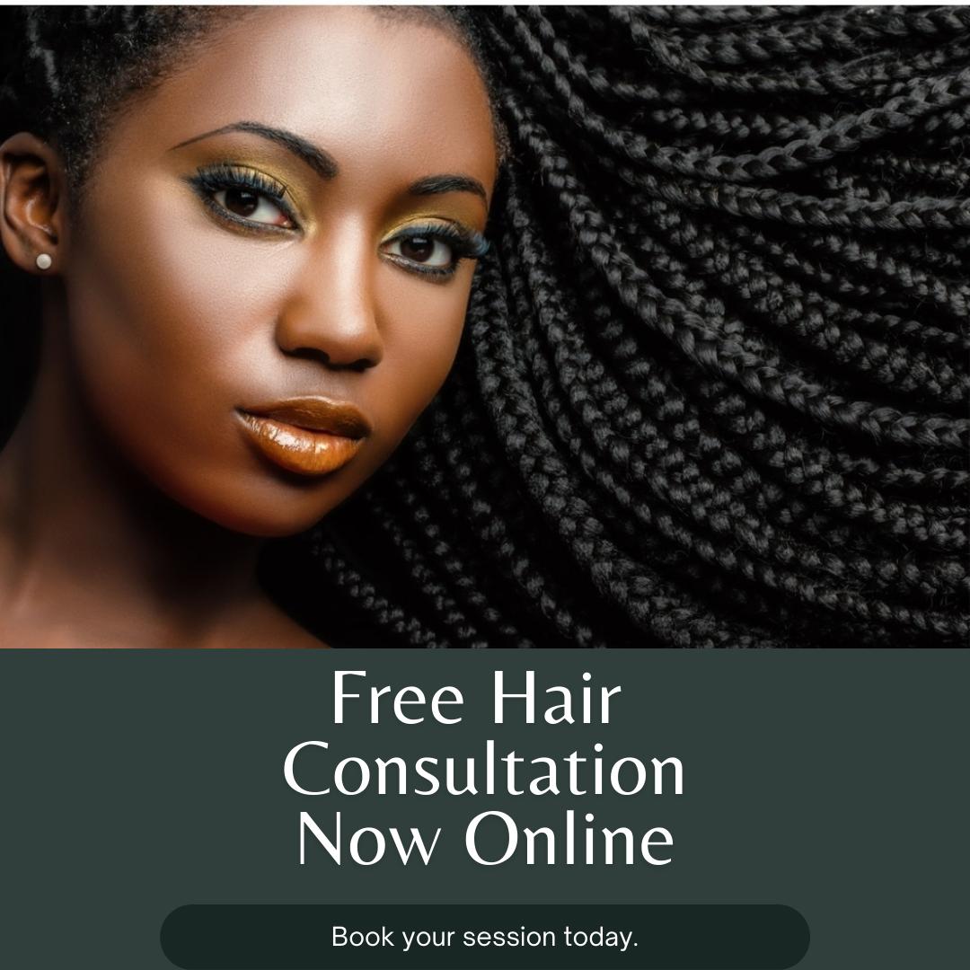 Custom Braided Hair Style Consulation