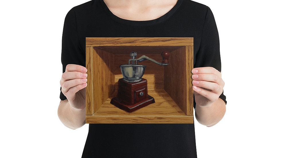 Coffee Grinder No.1 (Matte Paper Art Print) (8x10/12x16)