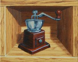 CoffeeGrinder_oil_22x27.3cm_2014