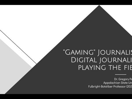 """""""Gaming"""" Journalism"""