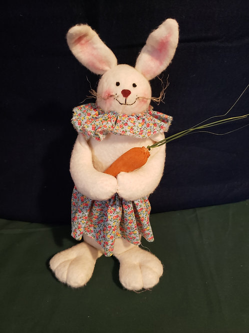 Standing Bunny With Carrot