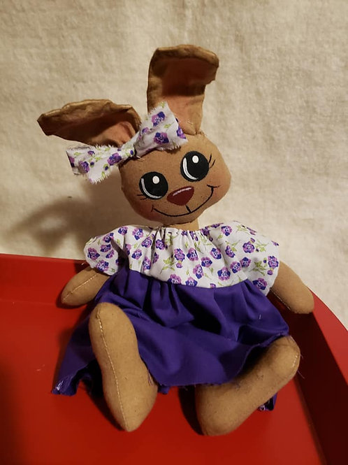 Handmade Folk Art Baby Bunny