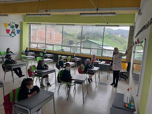 92% de los colegios boyacenses ya retornaron a la presencialidad