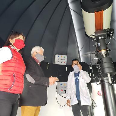 Hoy se inaugura el primer Observatorio Astronómico en Tunja