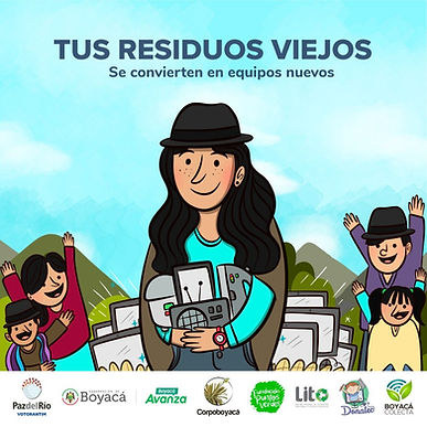 Hoy hay jornada de reciclatón en Tunja y Duitama