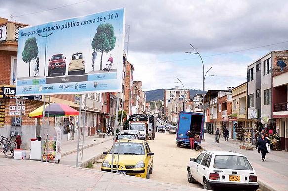 A finales de agosto entregarán obras de infraestructura en Duitama