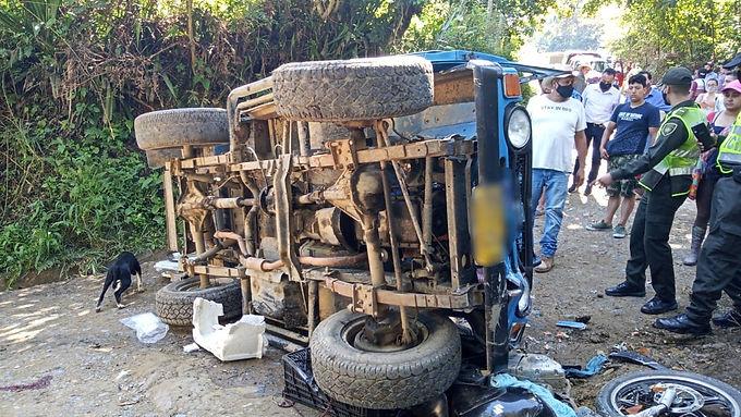 Accidente dejó una persona fallecida en San José de Pare