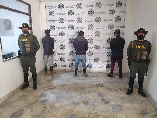 Fueron capturados tres sujetos por minería ilegal en Iza