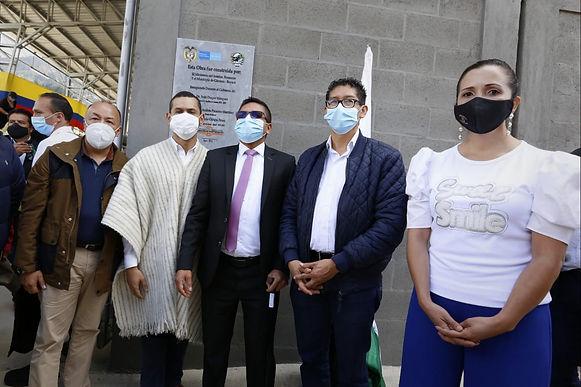 El ministro del Interior entregó un Centro de Integración en Gámeza