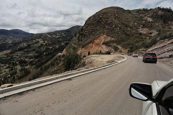 Cierre total nocturno de la vía Socotá-Jericó hasta nueva orden
