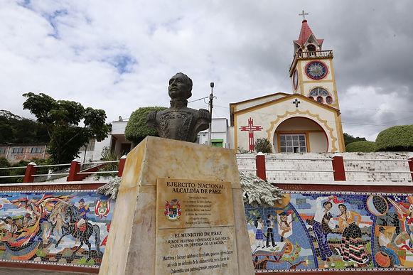Barragán nombró al alcalde encargado de Páez