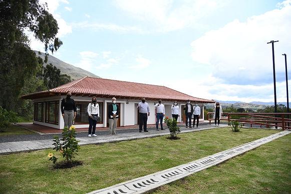 La primera fase de la Casa de la Cultura de Villa de Leyva ya fue entregada