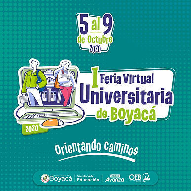 Arranca la Primera Feria Universitaria virtual para los próximos bachilleres de Boyacá